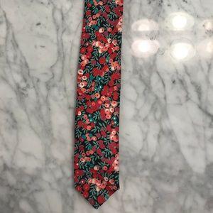 J. Crew Floral Tie.